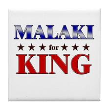 MALAKI for king Tile Coaster