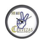Cervezas Wall Clock