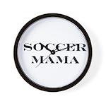 Soccer Mama Wall Clock
