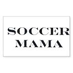 Soccer Mama Rectangle Sticker