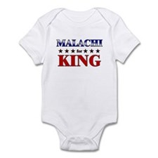 MALACHI for king Infant Bodysuit