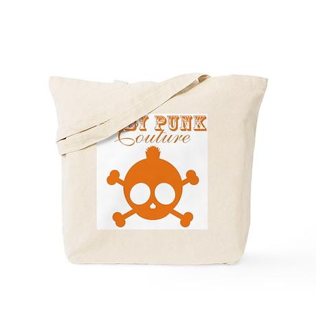 Couture Orange Tote Bag