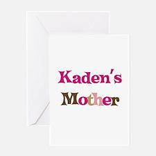 Kaden's Mother Greeting Card