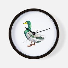 DUCK (2) Wall Clock