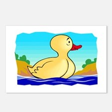 LITTLE YELLOW DUCKIE Postcards (Package of 8)