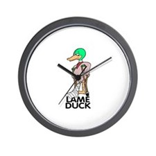 LAME DUCK Wall Clock