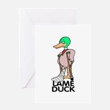 LAME DUCK Greeting Card