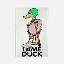 LAME DUCK Rectangle Magnet