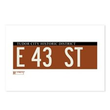 43rd Street in NY Postcards (Package of 8)