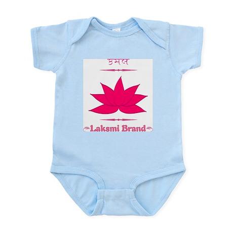 Laksmi Brand Goddess Lotus Infant/Baby Girl Onesie