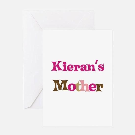 Kieran's Mother Greeting Card