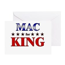 MAC for king Greeting Card