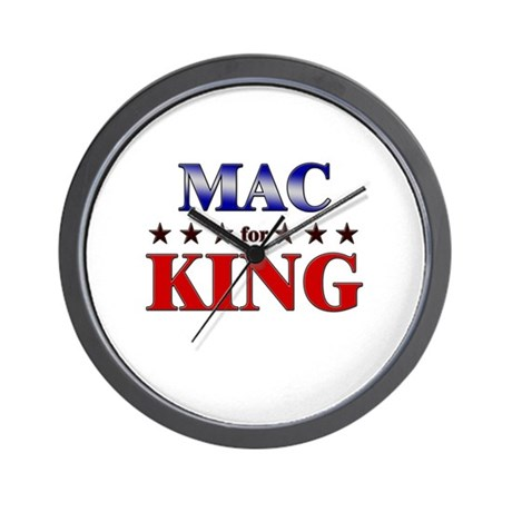 MAC for king Wall Clock