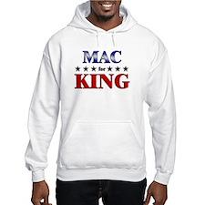 MAC for king Hoodie