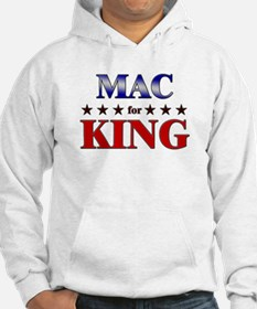 MAC for king Hoodie