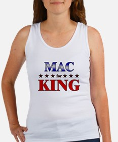 MAC for king Women's Tank Top
