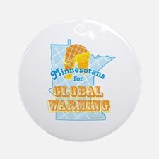 Minnesotans for Global Warming Ornament (Round)