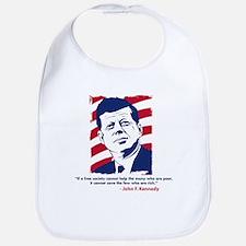 JFK Quote Bib