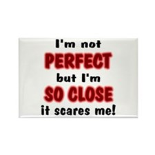 I'm Not Perfect... Rectangle Magnet