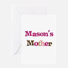 Mason's Mother Greeting Card