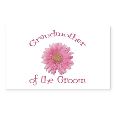 Daisy Groom's Grandmother Rectangle Sticker