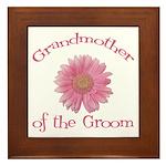 Daisy Groom's Grandmother Framed Tile