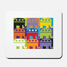 Elephant Diversity Mousepad