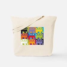 Elephant Diversity Tote Bag