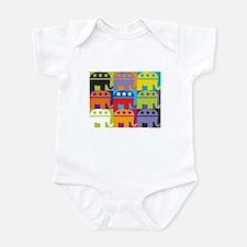 Elephant Diversity Infant Bodysuit