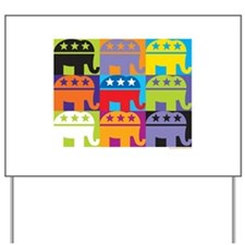 Elephant Diversity Yard Sign