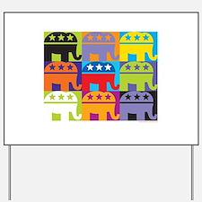 Elephant Diversity Yard Sign