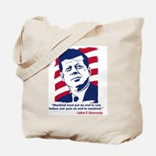 JFK Quotation Tote Bag