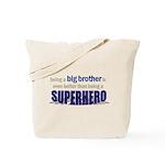 big brother t-shirt superhero Tote Bag