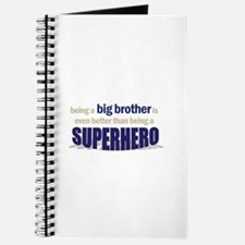 big brother t-shirt superhero Journal