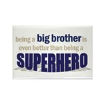 big brother t-shirt superhero Rectangle Magnet