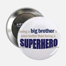 "big brother t-shirt superhero 2.25"" Button"