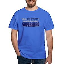 ADULT SIZES big brother superhero T-Shirt