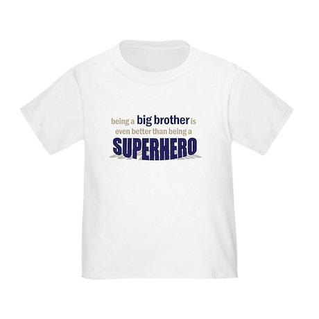 big brother t-shirt superhero Toddler T-Shi