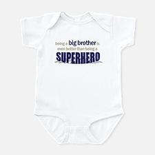 big brother t-shirt superhero Infant Bodysuit