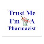 Trust Me...Pharmacist Postcards (Package of 8)