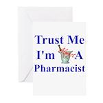 Trust Me...Pharmacist Greeting Cards (Pk of 20)