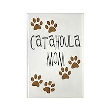 Catahoula Mom Rectangle Magnet