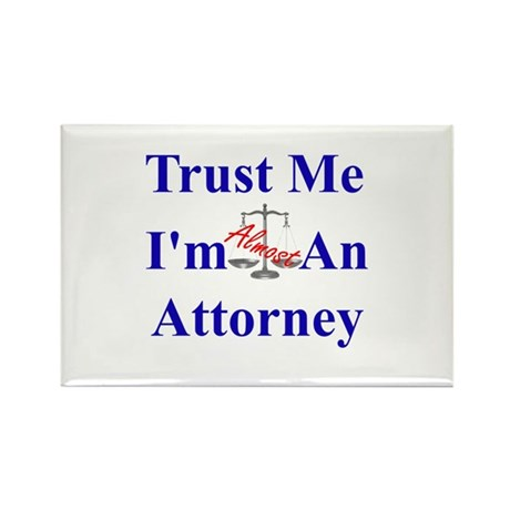 Trust Me ... Attorney Rectangle Magnet