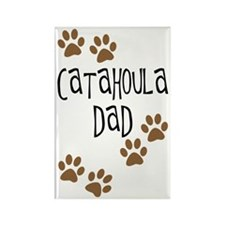 Catahoula Dad Rectangle Magnet