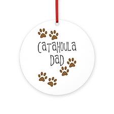 Catahoula Dad Ornament (Round)