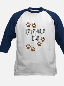 Catahoula Dad Kids Baseball Jersey