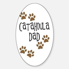 Catahoula Dad Oval Decal