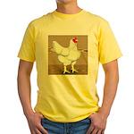 Cornish/Rock Hen Yellow T-Shirt