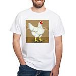 Cornish/Rock Hen White T-Shirt