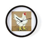 Cornish/Rock Hen Wall Clock